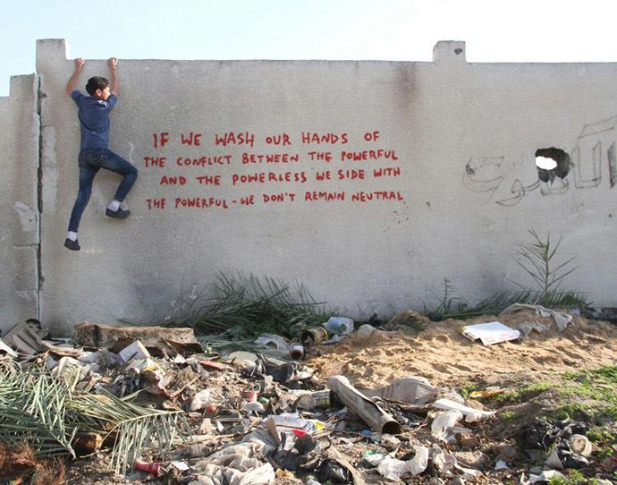 Photo from www.banksy.co.uk