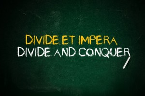 divide et impera divide and conquer