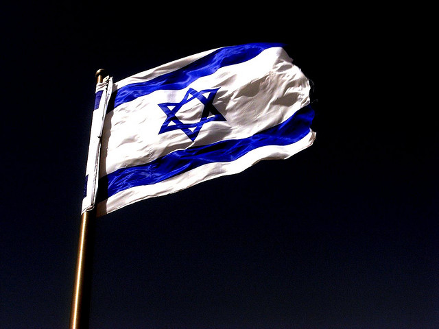 israel flag bandeira