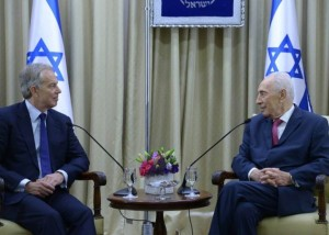 Blair and Peres in July 2014 source