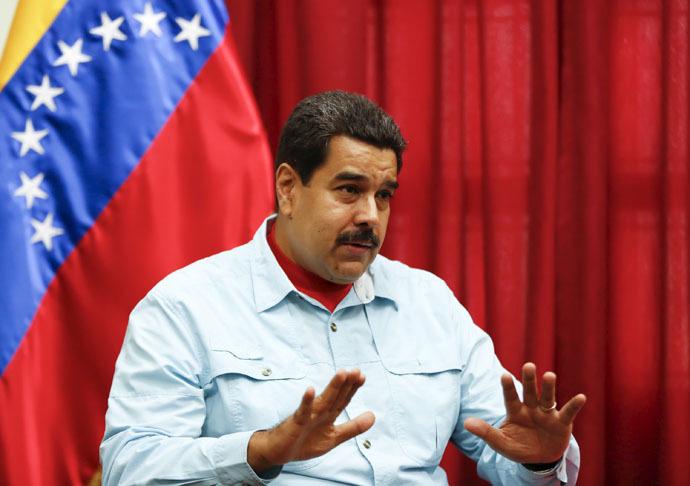 Venezuela's President Nicolas Maduro (Reuters/Carlos Garcia Rawlins)