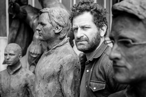 Davide Dormino and his sculptures