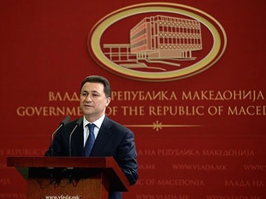 The Macedonian Prime Minister, Nikola Gruevski, announces the end of the assault against the terrorists.