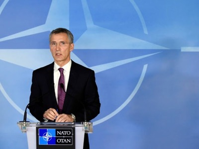 Although Macedonia is not a member of NATO, Jens Stoltenberg was « following » the police operation in Kumanovo.