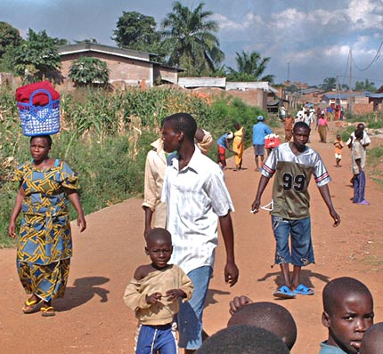 Bussuro area in the outskirts of Burundi © Jan Oberg