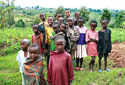 Children in Muramviya, Burundi © Jan Oberg