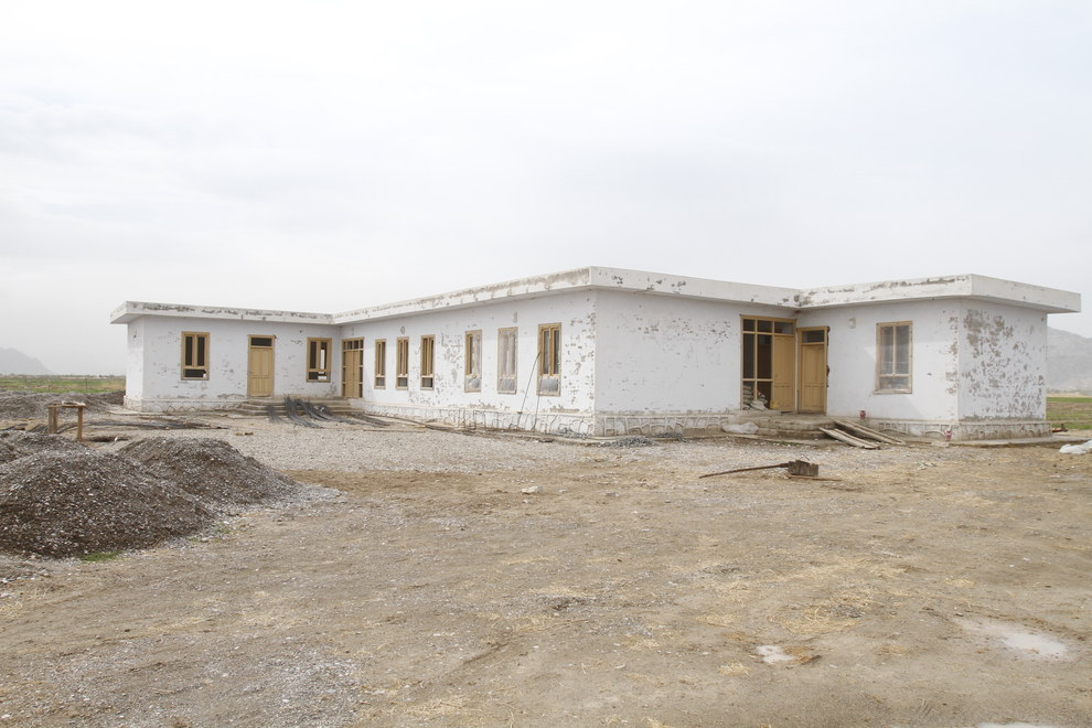Deh-e-Bagh Primary School in March 2015. Azmat Khan / BuzzFeed News