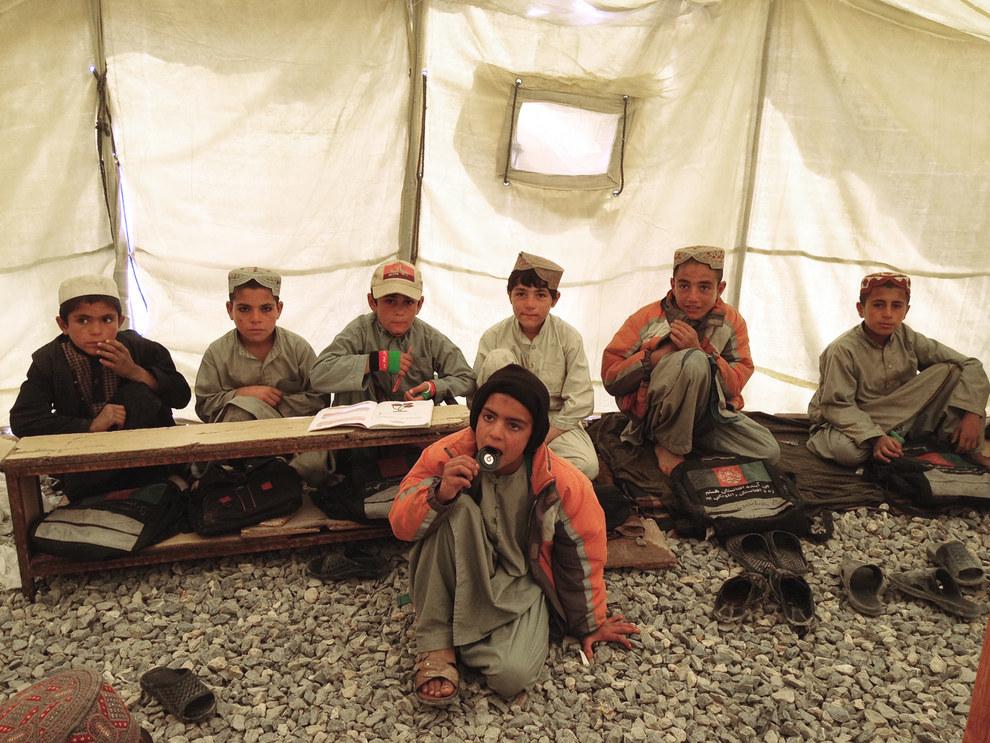 Sher Mohammad Hotak Primary School in Kandahar. Azmat Khan / BuzzFeed News