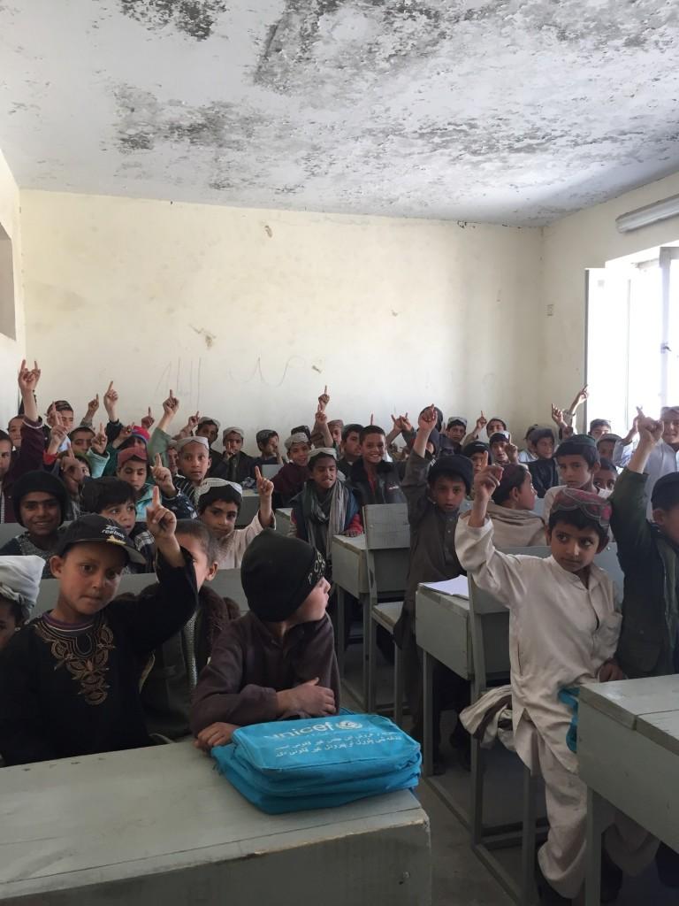 Kandalay School in Zhari. Azmat Khan / BuzzFeed News