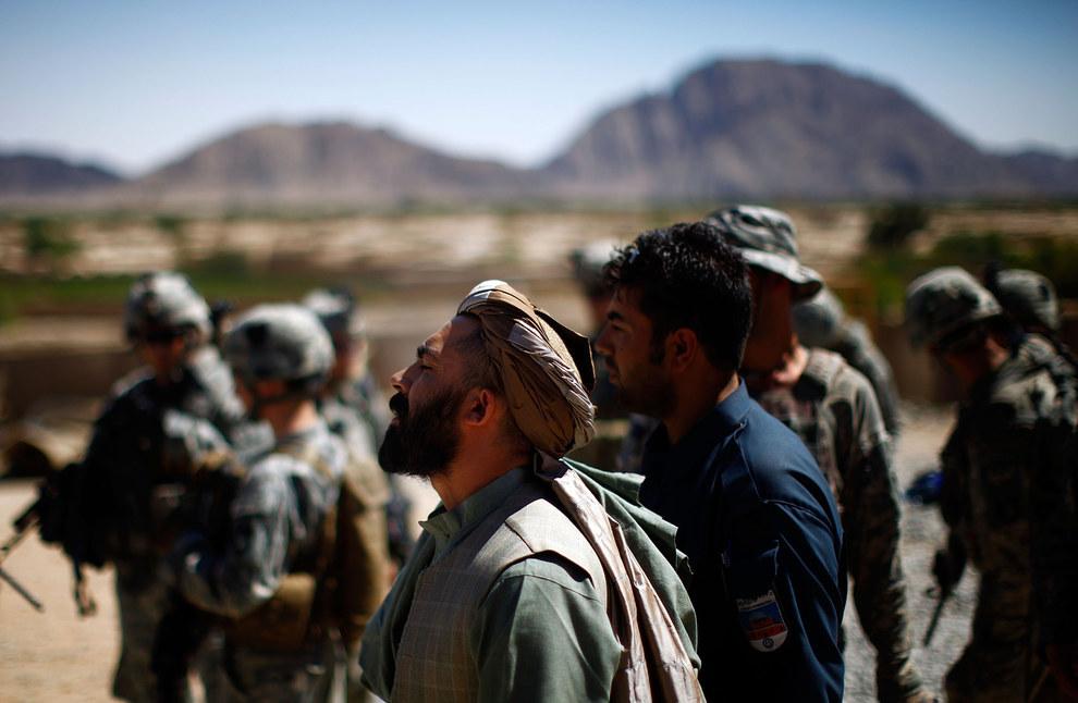 Zhari strongman Haji Lala. David Gilkey / NPR (2010) / Via npr.org