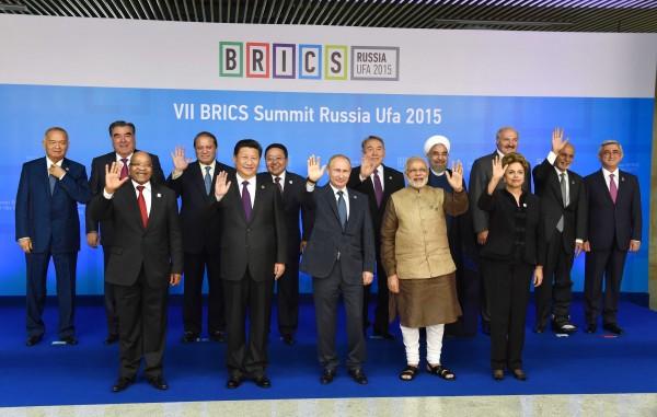 brics 2015 leaders