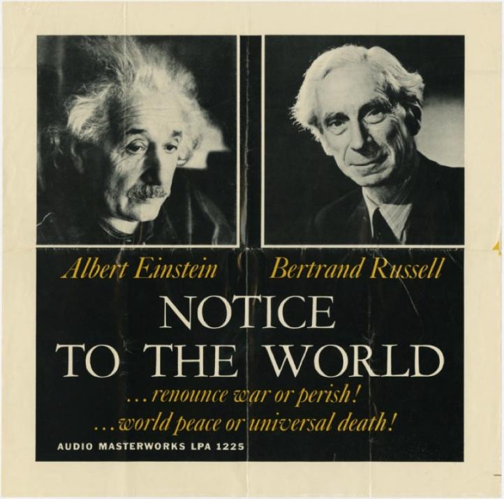 The original Einstein-Russell manifesto