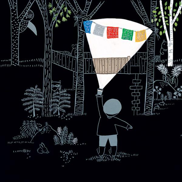 Illustration by Lizi Boyd from 'Flashlight.'