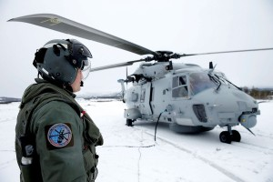 RNoAF NH90 maritime helicopter with serial 049 during tests at Bardufoss Airbase, part of Cold Response 2014 (Image © Torbjørn Kjosvold)