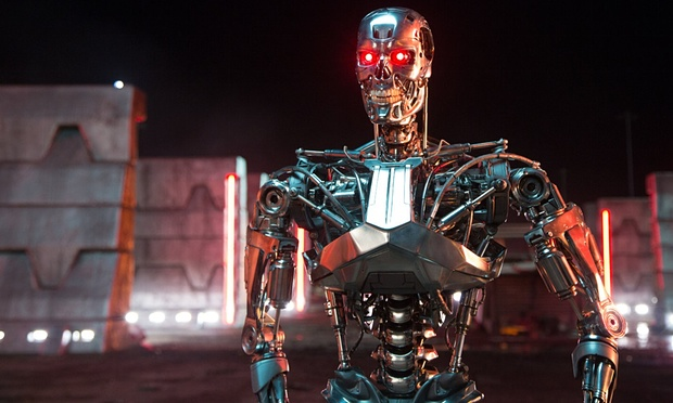 Over 1,000 leading experts in artificial intelligence have signed an open letter calling for a ban on military AI development and autonomous weapons, as depicted within the Terminator sci-fi franchise. Photograph: Moviestore/REX Shutterstock/Moviestore/REX Shutterstock