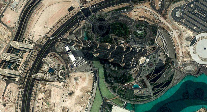Burj Khalifa in Dubai, the tallest building in the world. (Source: Arko Datto)