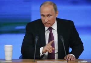 Russian President Vladimir Putin. REUTERS/Maxim Zmeyev