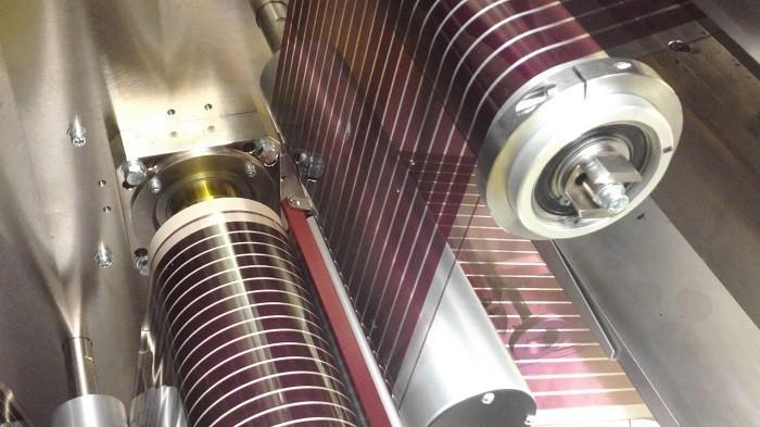 Mass-produced, printable solar cells