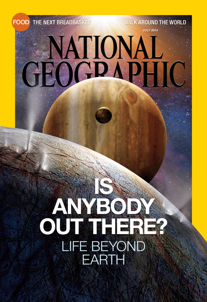 National Geographic magazine's July 2014 issue. (National Geographic)
