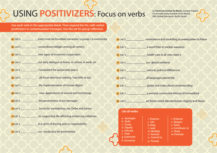 Positivizers Verbs-1