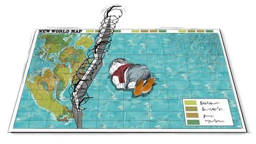 Cartoon by Rafat Alkhateeb.