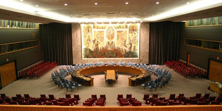 The United Nations Security Council Chamber in New York, also known as the Norwegian Room (Photo: Patrick Gruban)