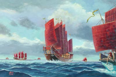 The great Chinese fleets of exploration in the 15th century failed because Chinese leaders saw no benefit from them. www.thespacereview.com