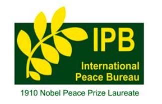 ipb-prize logo international peace bureau nobel