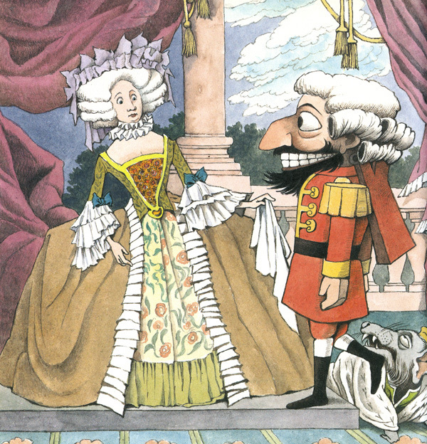 Illustration by Maurice Sendak for 'Nutcracker' by E.T.A. Hoffmann.