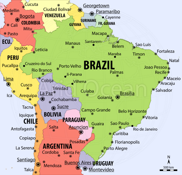 TRANSCEND MEDIA SERVICE Electoral Revolution In Brazil Aimed At - Brazil election map