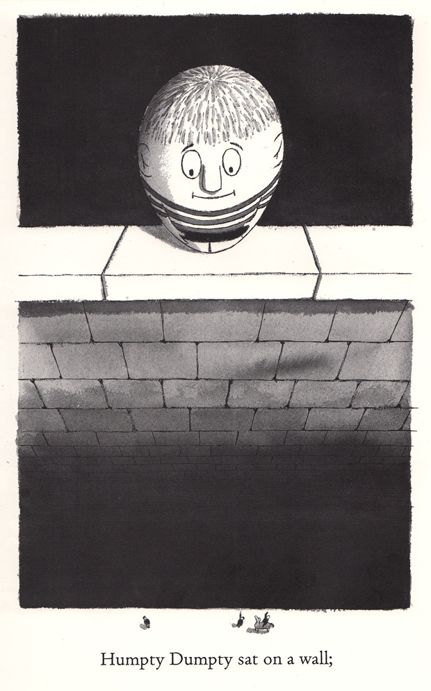 Illustration by Charles Addams from his vintage take on Mother Goose.
