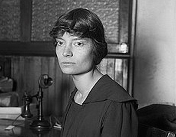 Activist Dorothy Day is pictured in this photo taken on December 31, 1915. (Wikimedia Commons)