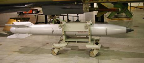 Old B-61: primary thermonuclear weapon in US stockpile since the end of the Cold War.Wikicommons. Some rights reserved.