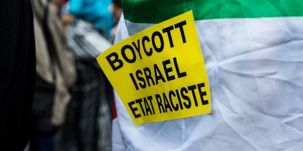 boycott israel racism french france charlie hebdo
