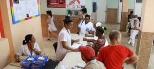 A pregnant woman in Cuba with HIV would be referred to a clinic, like the one above, for specialized care. (photo: Pan American Health Organization)