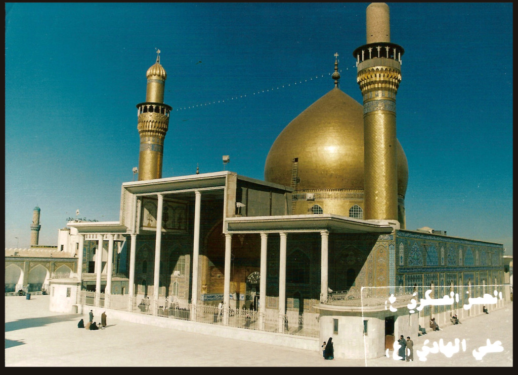 The golden-domed al-Askari Shrine in Samarra, Iraq, is one of the holiest sites for Shiites. Wikipedia