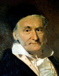 Carl Gauss was one of the major mathematicians in the 1820s to consider geometry on curved surfaces