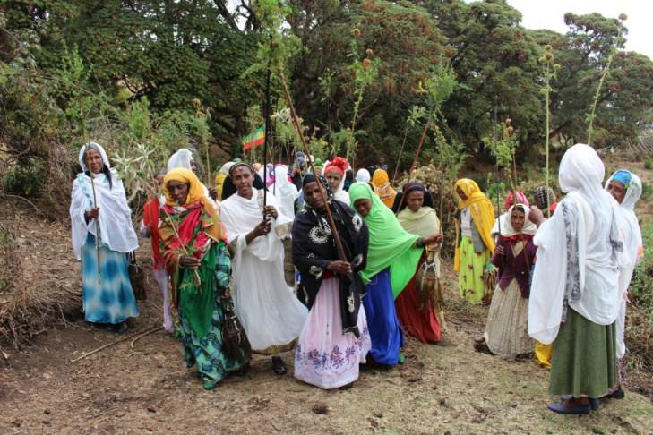 Sacred site custodians from Bale Ethiopia. (Photo: Tamara Korur)