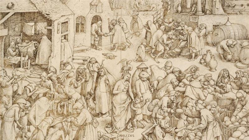 Caritas [Charity], by Pieter Bruegel the Elder, 1559 [Getty]