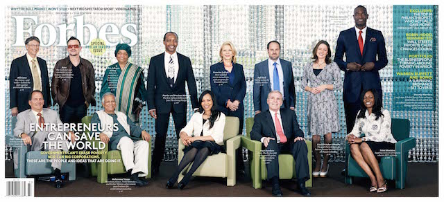 Second annual Forbes 400 Philanthropy Summit | Credit: UN.OR