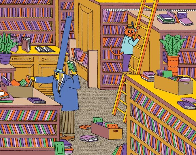 Illustration from Mr. Tweed's Good Deeds by Jim Stoten