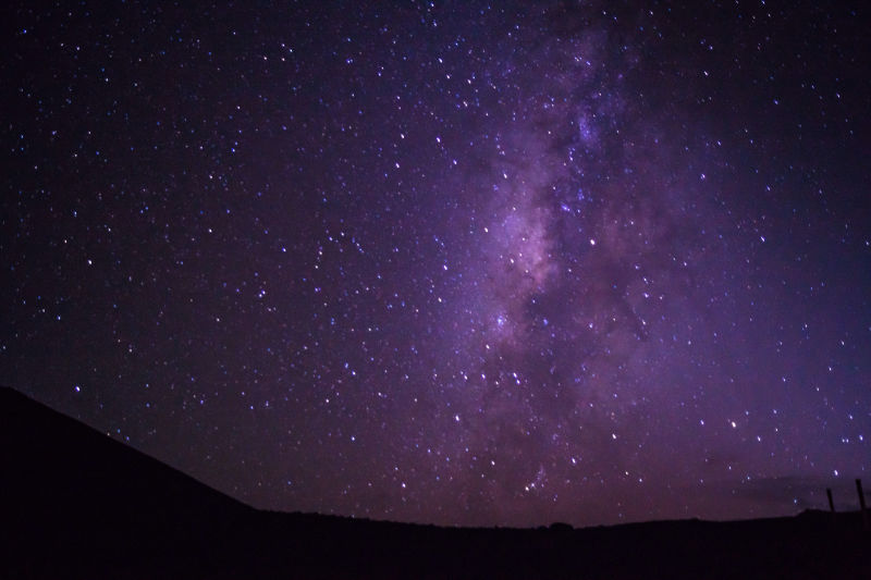 Milky Way from near the summit of Mauna Kea. Image Credit: Mark Ireland / Flickr
