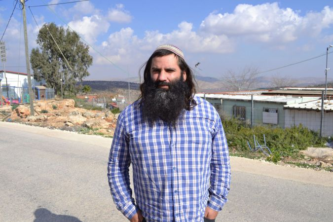 Hilltop Social Worker: Avia Azulay, 36, was an early hilltop youth adherent, but worked more recently for a government program to draw hilltop youth back into mainstream society. Azulay told them they could better fulfill their desire to kill Arabs by serving in the Israeli army and killing terrorists. - Image: Naomi Zeveloff