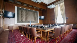 The table in Geneva - Photo Salvatore Di Nolfi, Scanpix