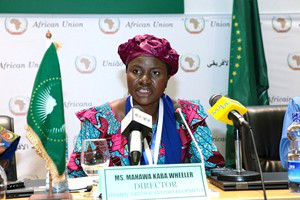 Mahawa Kaba Wheeler, Director of Women, Gender and Development at the African Union Commission. Photo: Courtesy of the African Union Commission