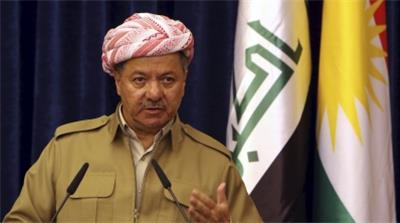 Iraq's Kurdistan region's President Massoud Barzani [REUTERS]