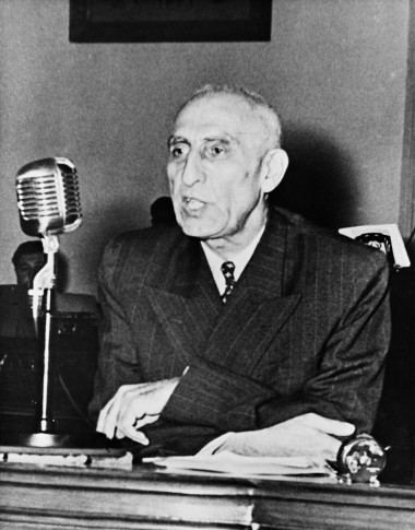 Mohammed Mosaddegh, the democratically elected Prime Minister of Iran from 1951-1953, pictured left in 1951, the same year he was named TIME Person of the Year, right. His tenure was cut short by a United States-led coup in 1953, which installed Shah Reza Pahlavi.
