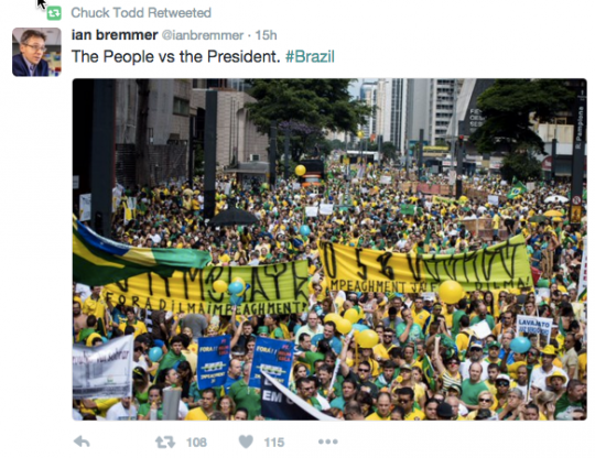 protesto brasil corrupção