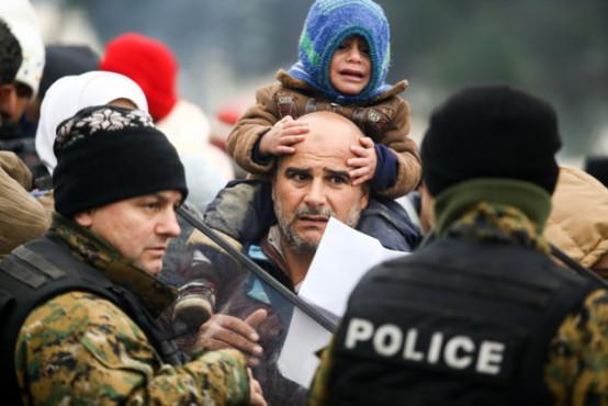 Desperation in Idomeni camp | Credit: Dimitris Tosidi/IRIN