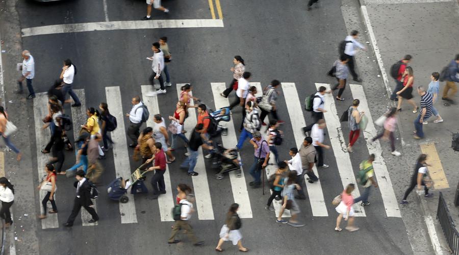 street crosswalk pedestres